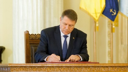 Klaus Iohannis a semnat astăzi decretul. Decizia surprinzătoare luată de președintele României