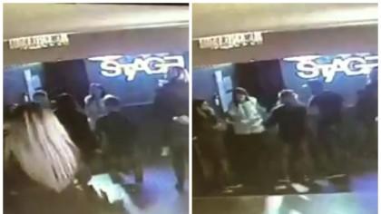 O poliţistă a intrat într-un club din Alba Iulia. Ce a urmat după aceea e ULUITOR / Scandalul, filmat de camerele de supraveghere | VIDEO