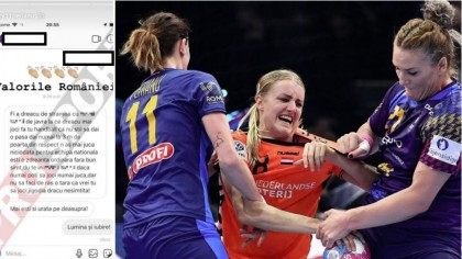 """O jucătoare a naționalei României de handbal, jignită și înjurată in ultimul hal pe Instagram! A făcut totul public: """"Mai ești și urâtă pe deasupra!"""""""