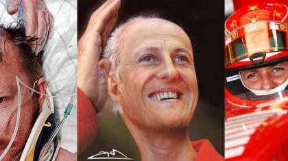 IMAGINILE MOMENTULUI. Michael Schumacher a ajuns o mumie