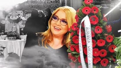 Scandal la mormântul Cristinei Țopescu. A venit să îi aducă un ultim omagiu, dar a fost hulit de rude: 'I-a făcut viața un calvar!'