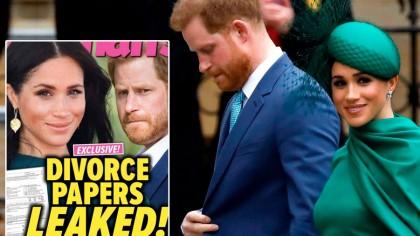 Meghan a băgat divorț de Prințul Harry! E oficial