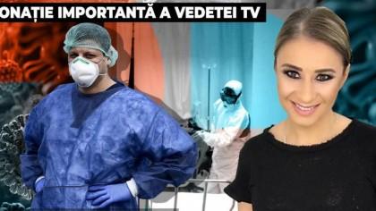 Anamaria Prodan, gest impresionant împotriva coronavirus! Ce le-a trimis medicilor de la Fundeni, care au avut grijă de mama ei, Ionela Prodan