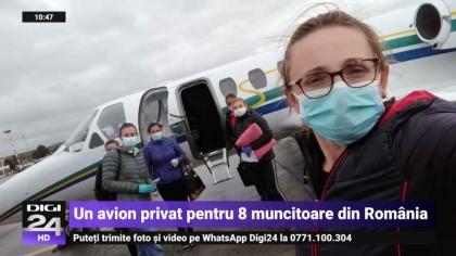 8 muncitoare românce au fost duse în Italia cu un avion privat. De ce a făcut patronul acest gest