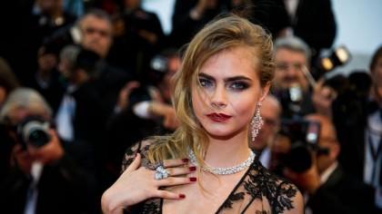 Supermodelul Cara Delevingne: