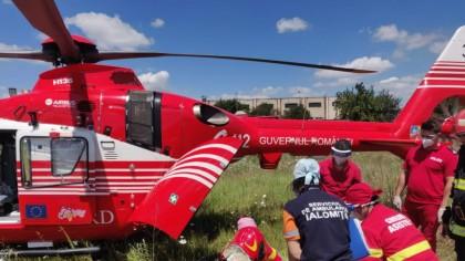 Accident grav în Ialomița. Un șofer a murit, iar alte două victime sunt în stare critică