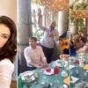 Imagini de senzație de la botezul nepotului lui Victor Pițurcă! A stat la masă cu Cristi Borcea, într-un cadru de basm