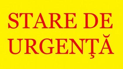 OFICIAL: Guvernul a anunţat că se revine la STARE DE URGENȚĂ!