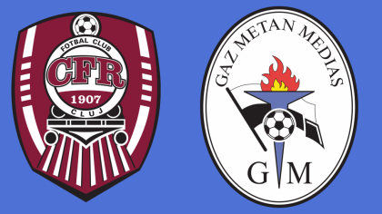 CFR Cluj – Gaz Metan live score, live video!