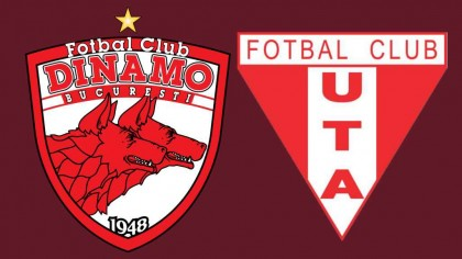 Live video Dinamo – UTA Arad Scor. Sigurul site care transmite live meciul