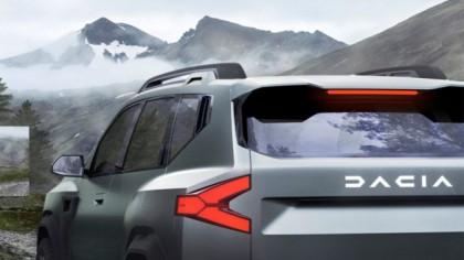 Dacia Bigster – Primele imagini REALE cu interiorul viitorului SUV cu 7 locuri