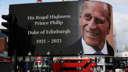 Când va fi înmormântat Prințul Philip, de fapt. De ce a scăzut audiența la TV când el a murit