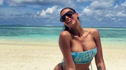 FOTO. Imagini fierbinți cu Antonia din Maldive! A făcut ravagii într-un costum de baie