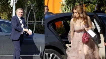 Marilena, soția lui Gică Hagi, răvășitoare într-o rochie cu decolteu, la nunta Simonei Halep! | GALERIE FOTO