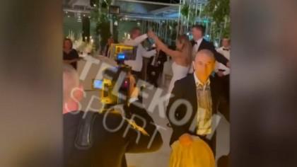 VIDEO | Gică Hagi şi Simona Halep, momentul serii la petrecerea de cununie civilă. Invitaţii s-au oprit să-i admire. EXCLUSIV