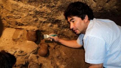 """Un arheolog care explora sub o PIRAMIDĂ vestită a făcut o descoperire URIAȘĂ. """"Este cea mai mare COMOARĂ a..."""