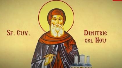 Calendar Creștin Ortodox 27 octombrie 2021. Este Sfântul Cuvios Dimitrie cel Nou, Ocrotitorul Bucureștilor, ale cărui moaște se află în Catedrala Patriarhală